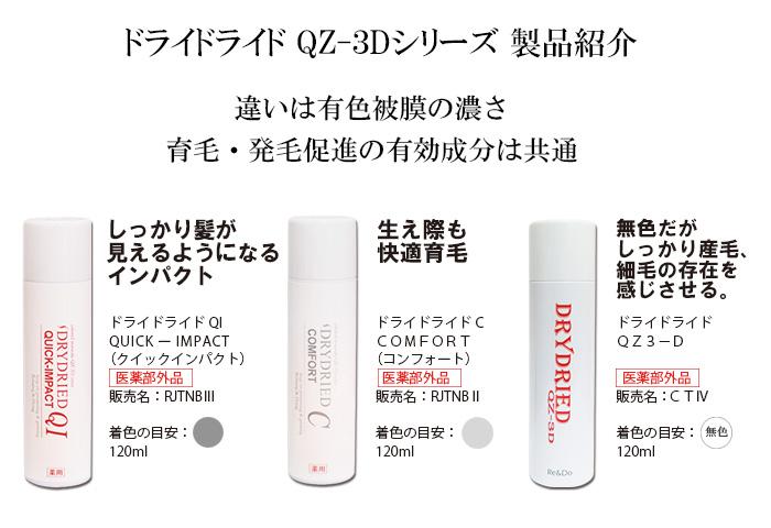 ドライドライド QZ-3Dシリーズ