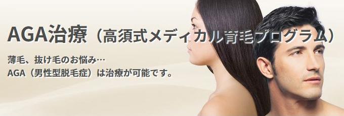 高須式メディカル育毛プログラム
