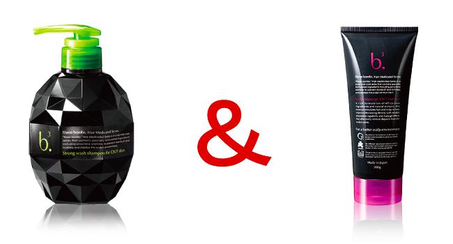 スリーボム薬用シャンプーと薬用スカルプマッサージ バイタルエッセンス